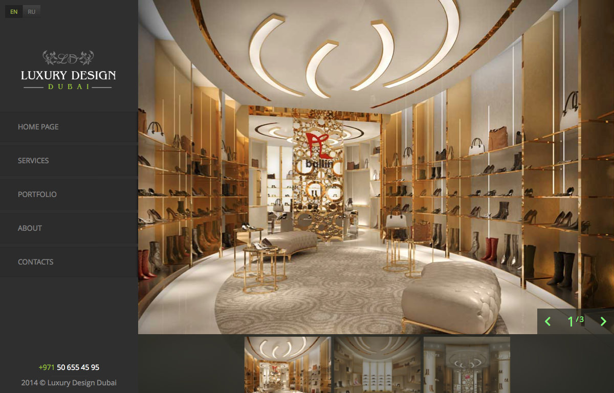 Opera Shoes, Mall of the Emirates | Luxury Design and Fit out in Dubai