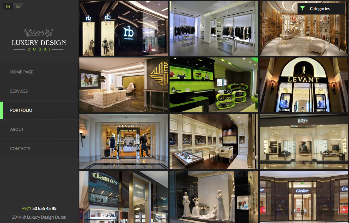 Portfolio | Luxury Design and Fit out in Dubai